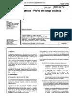 NBR 12131_91 (MB-3472) - Estacas - Prova de Carga Estática - 4pag