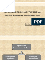 Agronomia e Formação Profissional
