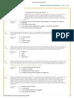 Evaluaciones Nacionales 2014-1