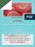Aula 06 - Alelos Multiplos - Prof. Helvio