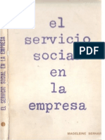 El Servicio Social en La Empresa Madeleine Bernard