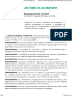 Resolução 1974_2011 - Propaganda Médica