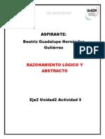 Beatriz Guadalupe Hernandez Gutierrez Eje2 Actividad5