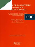 MATURANA ROMESÍN. Humberto y MPODOZIS MARÍN, Jorge - Origen de las Especies por medio de la Deriva Natural - Año 1992pdf.pdf