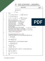 Exam Solution 2009-10