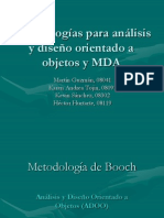 metodologasparaanlisisydiseoorientadoaobjetos-090303101242-phpapp02