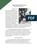 Gurdjieff & Fritz Peters, Part II