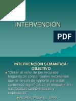 intervencion semantica