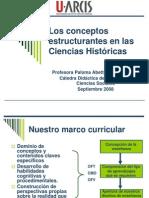 Clase 11 Los Conceptos Estructurantes en Las Ciencias Historicas