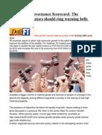 Sri Lanka's Governance Scorecard the Declining Indicators Should Ring Warning Bells for Everyone