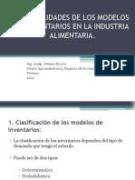 Generalidades de Los Modelos de Inventarios en La