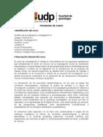 PROGRAMA 2014_Investigación III_Cristián Perez