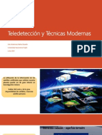 Teledetección y Técnicas Modernas