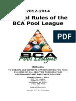 2012 BPA Pool Rules