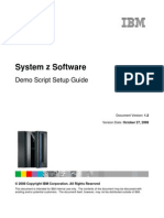 System z Software Demo Setup Guide