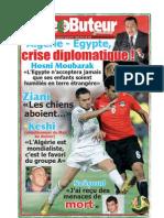 LE BUTEUR PDF du 22/11/2009