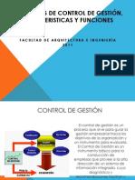 Conceptos de Control de Gestión, Carácteristicas y Funciones