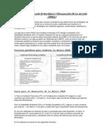 Matriz de Posición Estratégica Y Evaluación de La Acción