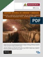Diptico Business Wine