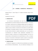 Protocolo Trombosis Venosa Profunda 2013