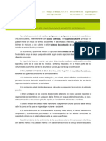 Tecnicas de Almacenamiento e Inventario de Residuos