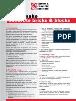 6 How to Make Concrete Bricks and Blocks