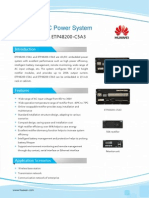 Huawei Embedded Power System ETP48200-C5A1 C5A3 DataSheet