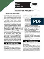 38ckd, Instrucciones de Instalacion.
