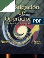 Investigacion de Operaciones Winston Ocr