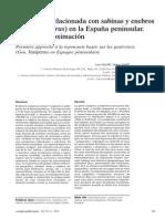 Ecolog�a mediterr�nea l39(1) Toponimia sabinas y enebros