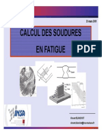 Calcul Soudures Fatigue