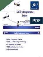Galileo Programme Status
