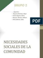 Expo de Nesecidades Sociales de La Comunidad_introduccion