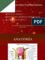 Patología Anorectal