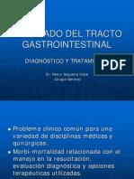 Sangrado del Tracto Gastrointestinal