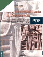 La Universidad Hacia La Democracia