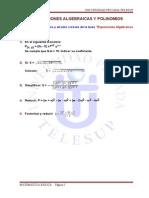 Actividad 3 Expresiones Algebraicas Telesup