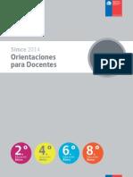 Orientaciones Para Docentes Educacion Basica 2014