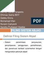 Filing Sistem Abjad