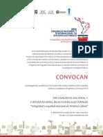 XXV Congreso nacional y V Internacional de Estudios Electorales