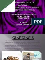 .Esxposicion de Giardiasis Enfermedades Parasitarias[1]