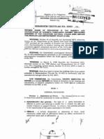 PLEB Rules - Procedure