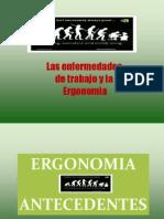 Las Enfermedades de Trabajo y La Ergonomia