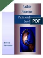 1) Planificación Financiera a Corto Plazo