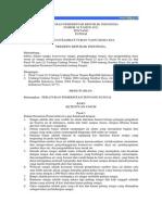 Peraturan Pemerintah Tahun 2011 - Tentang Sungai