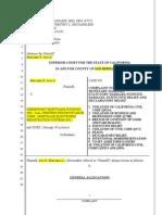 Post-Foreclosure Complaint Plaintiff)