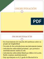 La Pronosupinación
