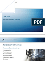 Our Role RBA