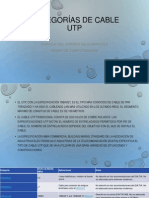 Categorías de Cable UTP Kique