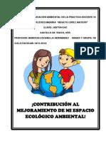 Proyecto de Educacion Ambiental III Maressa